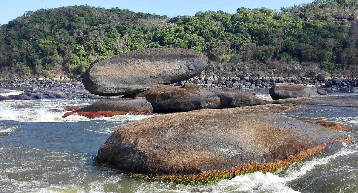 El Balancín es una roca que tiene erosión bastante particular. Foto: Twitter @Oscarivanperez