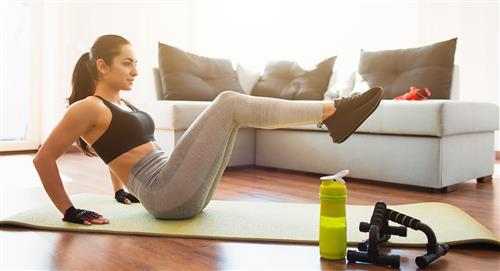 4 ejercicios para aumentar glúteos y tonificar piernas