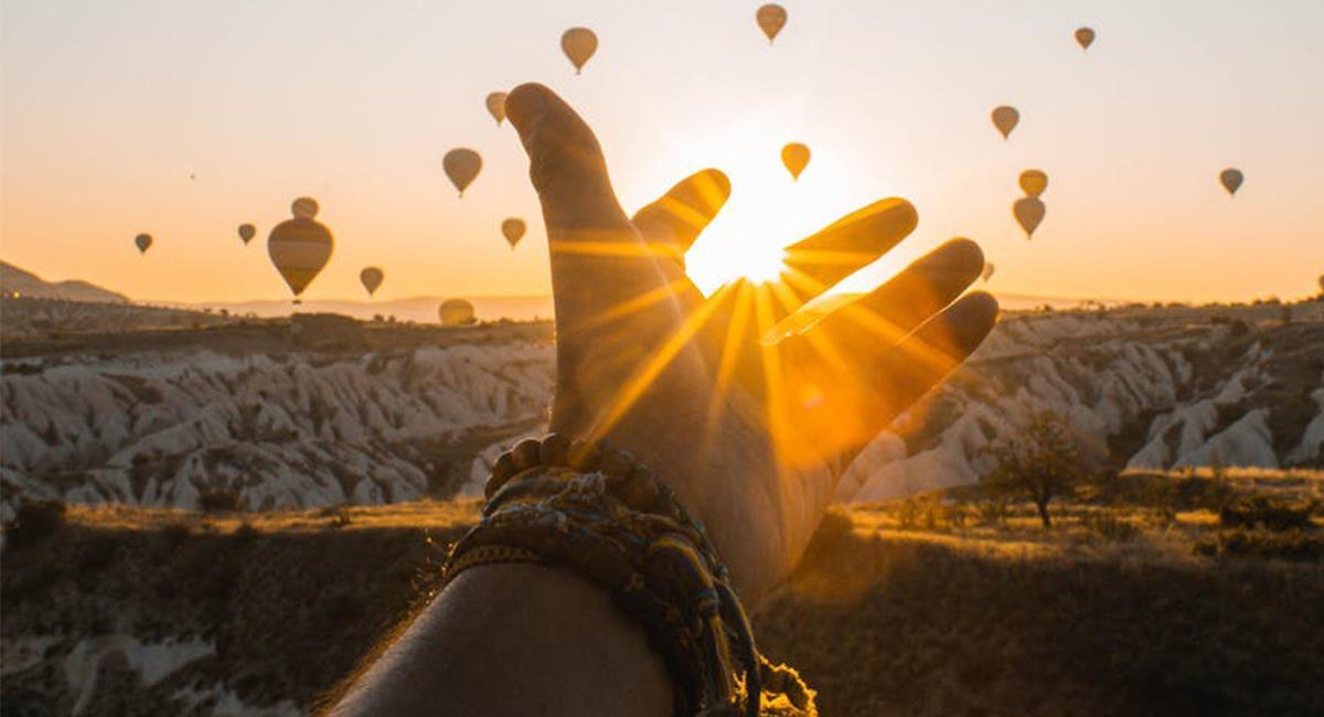 Los viajes en globo aerostático son una experiencia única en la vida. Foto: Pexels