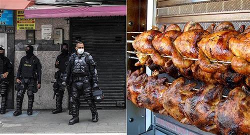 Distrito de Bogotá compró medios pollos a $24.000 para alimentar al Esmad