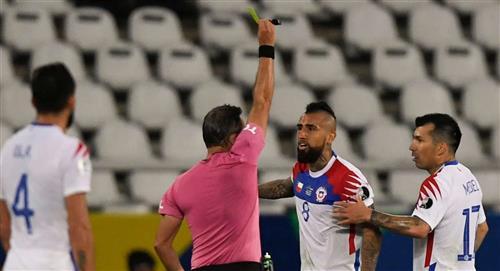 Sanción a Arturo Vidal por lo sucedido en la Copa América 2021