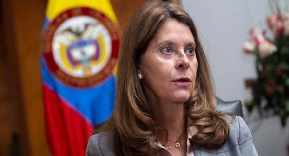 La vicepresidenta Marta Lucía Ramírez lamentó lo ocurrido con el terremoto de hoy en Haití. Foto: Twitter @MV_Eng