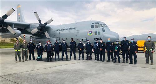Colombia envió 16 toneladas de ayuda humanitaria y 30 rescatistas a Haití