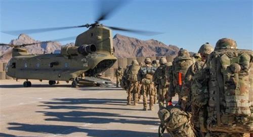 ¿Cuál fue la respuesta de Biden frente al rechazo de quitar las tropas de Afganistán?