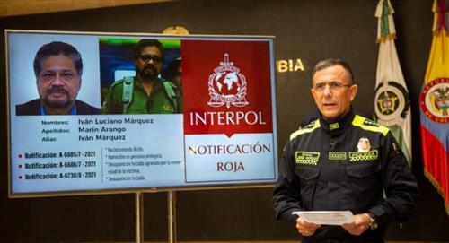 Interpol expide circular roja contra Iván Márquez y otros jefes de disidencias de FARC