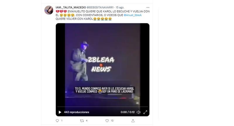 Clic para ver el video. Foto: Twitter