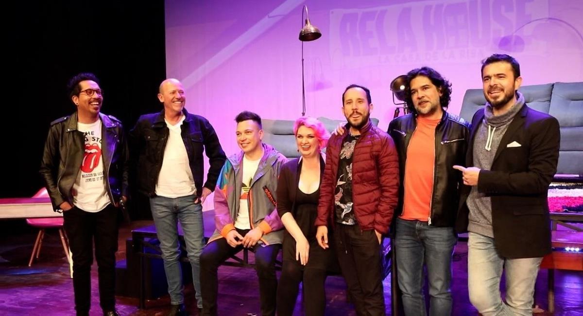 Los comediantes regresaron a su escenario favorito: El Teatro. Foto: Youtube Colombia.com.