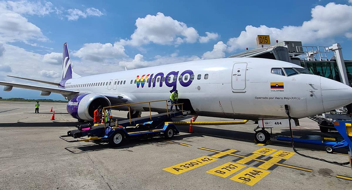 Las aerolíneas de bajo costo, son una alternativa de vuelos económicos. Foto: Twitter @AeroCali