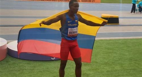 John Berrio: nueva medalla de plata para Colombia
