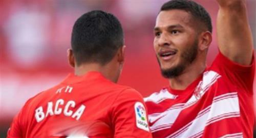 Luis Suarez y Carlos Bacca: golazo para el Granada, toda una jugada maestra