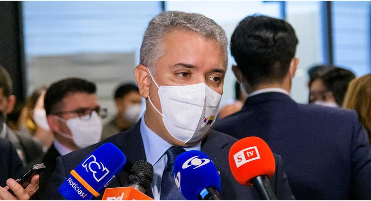 Duque anunció la extensión de la Emergencia Sanitaria. Foto: Presidencia de Colombia