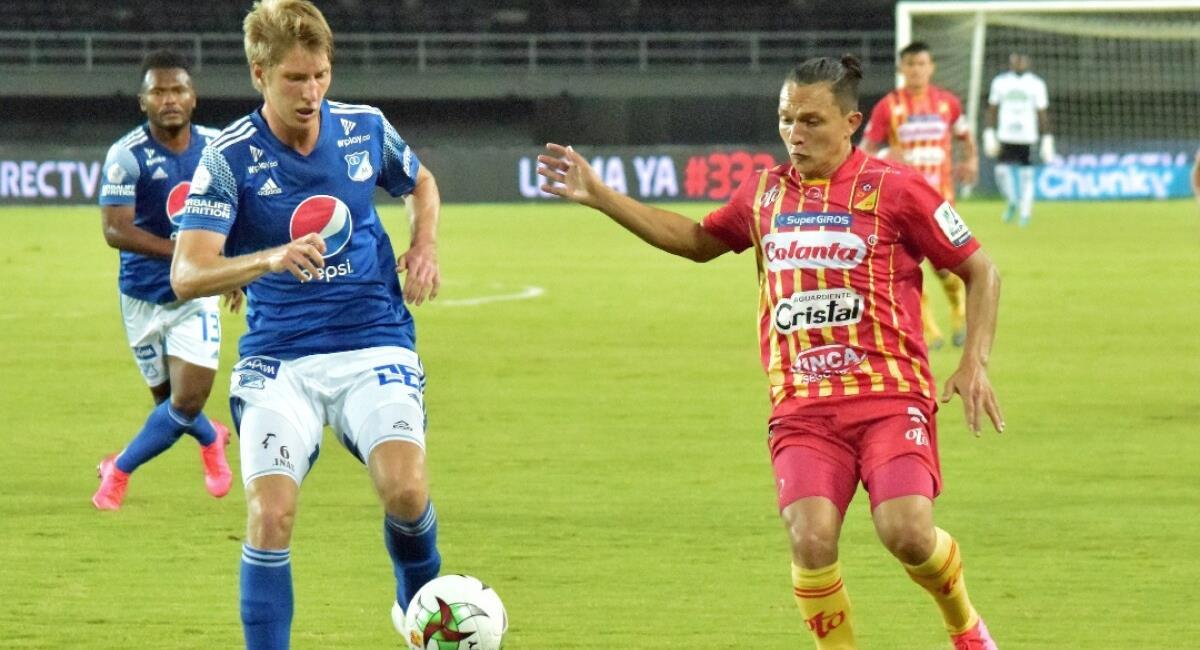 Pereira vs Millonarios en vivo. Foto: Colprensa