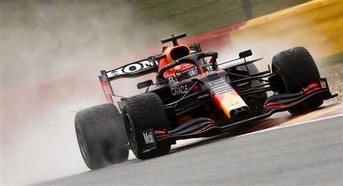 Verstappen se quedó con la pole en Bélgica
