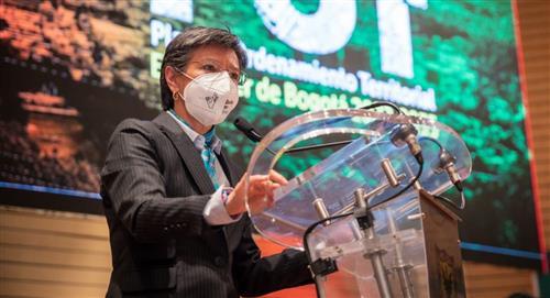 Claudia López acusa a Petro de apoyar los actos vandálicos de la 'primera línea'