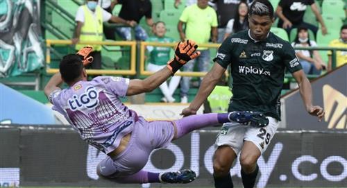 Junior de Barranquilla vs Deportivo Cali empatan en el Palmaseca