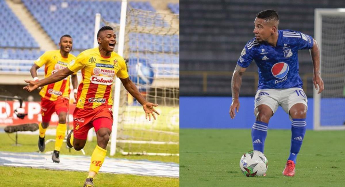 Foto: Instagram Deportivo Pereira / Millonarios