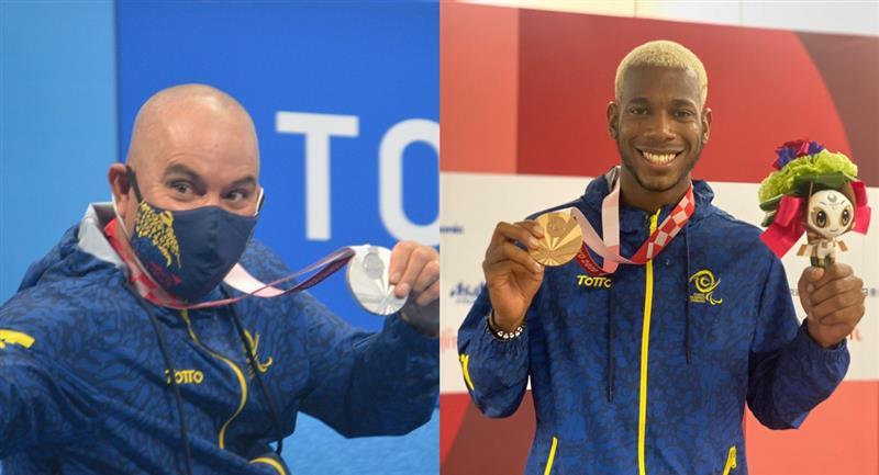Colombia sigue haciendo historia en los Paralímpicos
