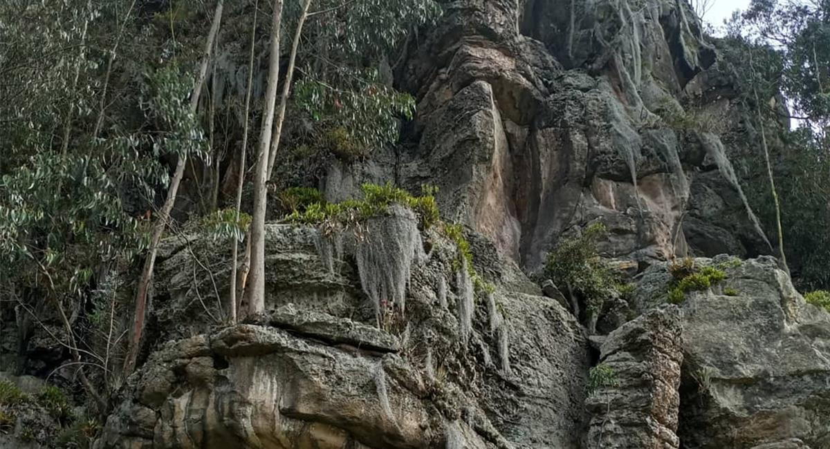 Suesca y San Gil, son lugares perfectos del país con formaciones rocosas. Foto: Twitter @Electricksignal