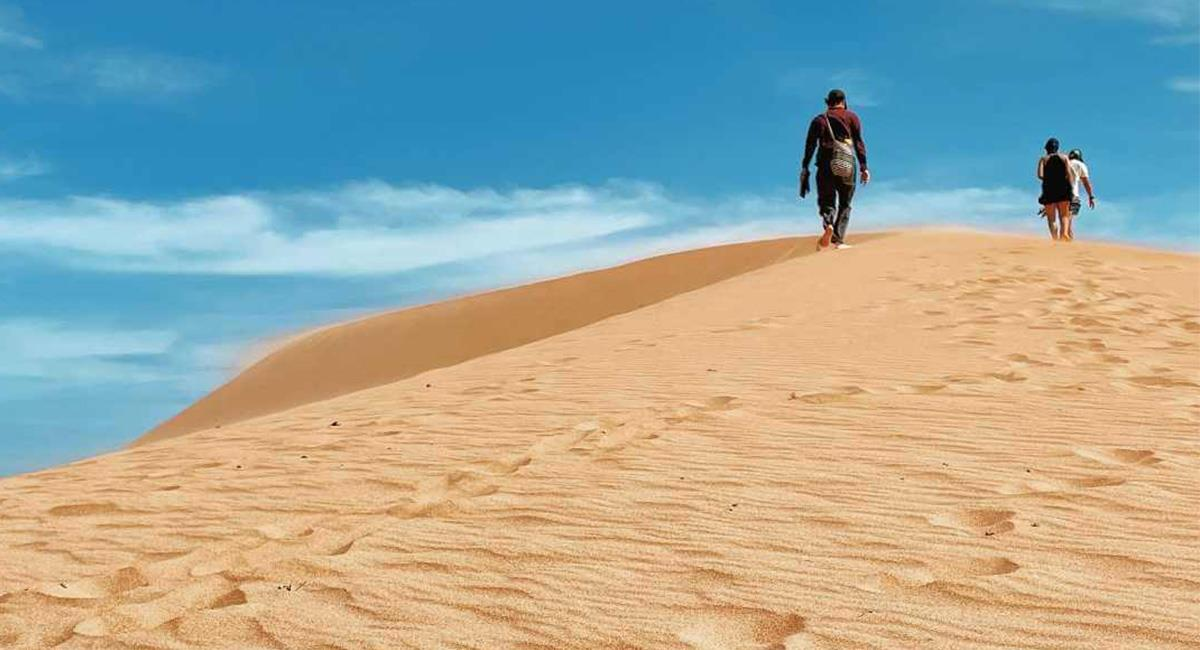 La dunas cercanas al mar, son una belleza de la región semiárida. Foto: Instagram @Mauricioamayalop