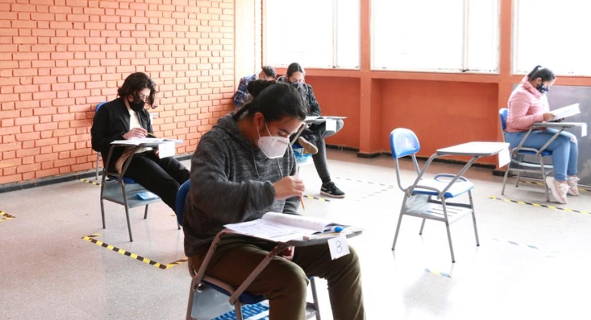 Recomendaciones para las pruebas Icfes 2021. Foto: Ministerio de Educación