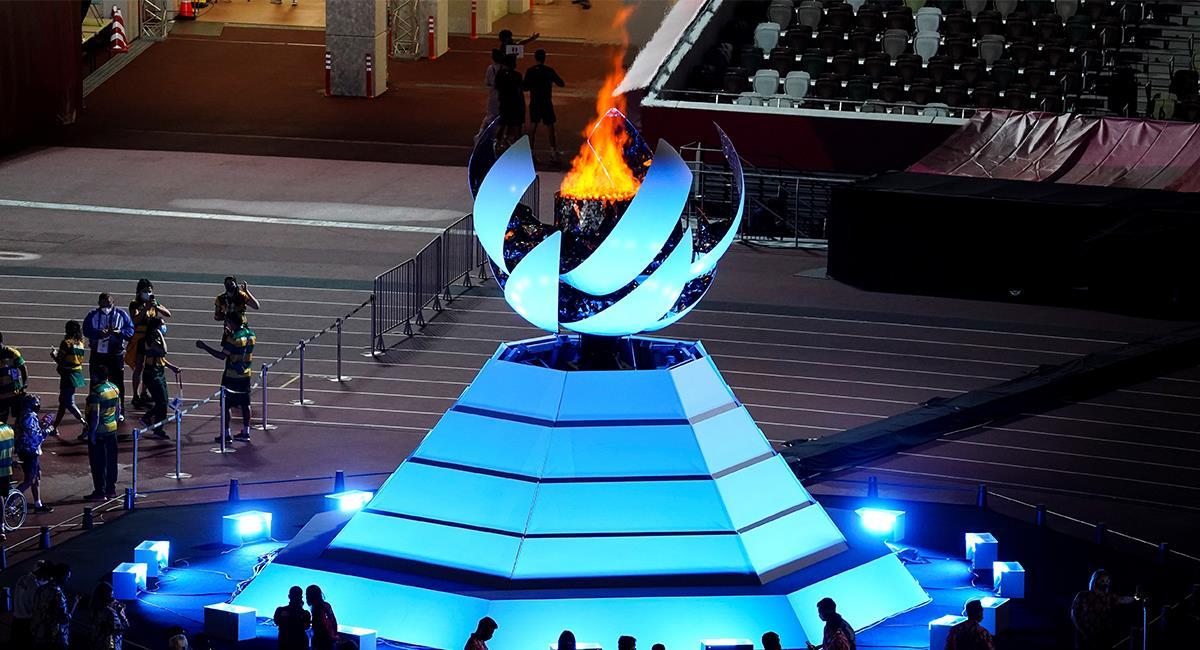 Clausura Paralímpicos de Tokio 2021. Foto: EFE