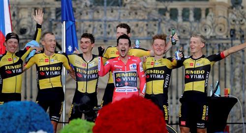 Primoz Roglic se quedó con la etapa 21 y se coronó campeón de La Vuelta