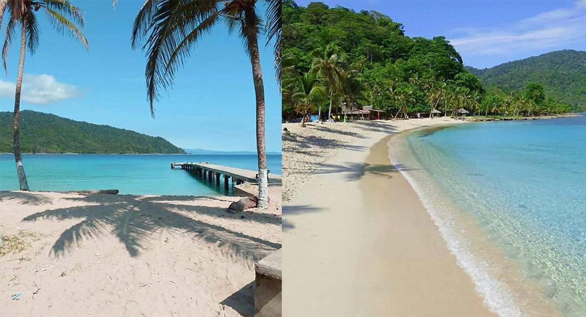 La isla de Capurganá, en el Chocó,ha tomado relevancia entre los destinos favoritos. Foto: Twitter @ColDesconocida