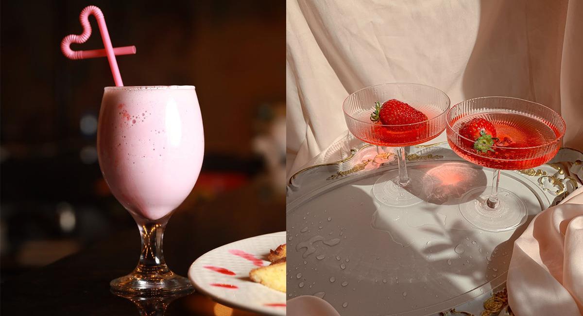 Los cócteles con frutas y siropes, son fáciles debido a que solo es mezclar ingredientes. Foto: Pexels