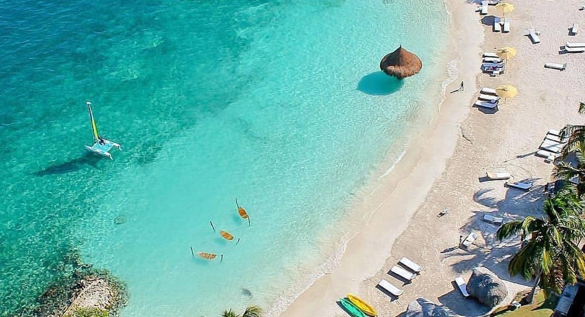 Los 'enamorados' podrán disfrutar de una maravillosa experiencia en las islas. Foto: Twitter @ColDesconocida