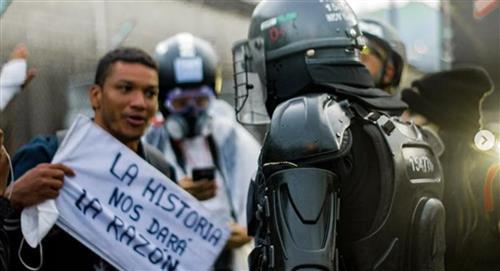 La Policía Nacional admite exceso de fuerza durante las protestas y pide perdón por ello