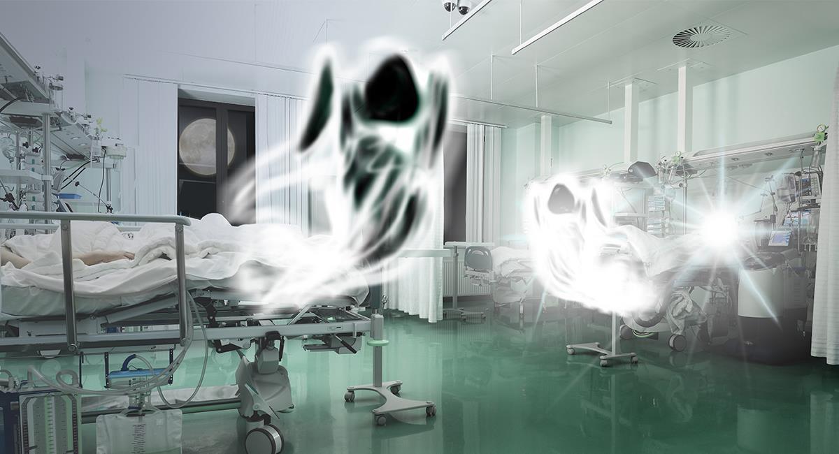 Viral: así fue la reacción de una mujer al confundir a un enfermero con un fantasma. Foto: Shutterstock