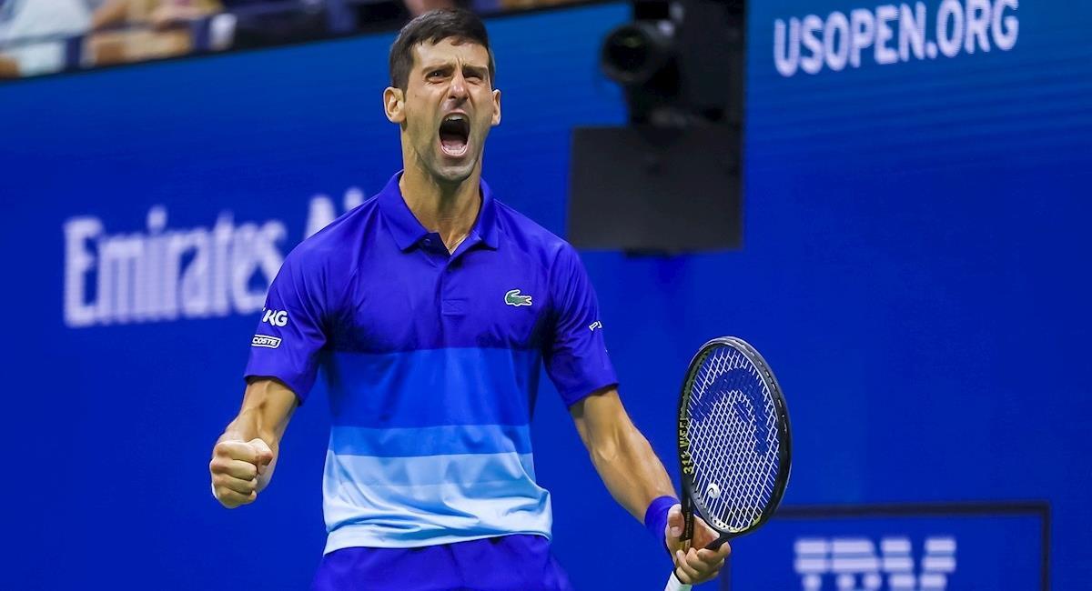 Djokovic a un partido de su grand slam 21. Foto: EFE