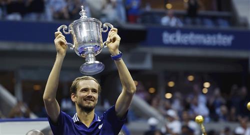 Medvédev se quedó con el US Open