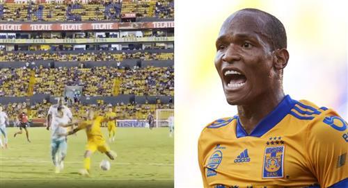 El colombiano Luis Quiñonez salva a Tigres de la derrota ante León de México