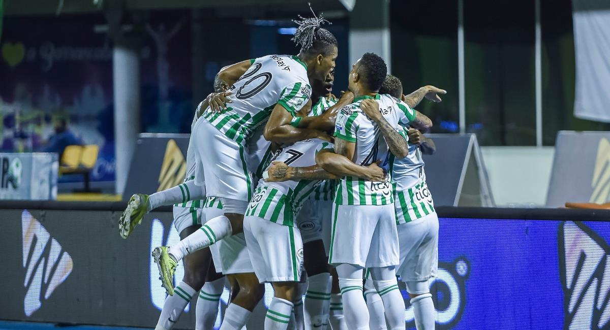 Atlético Nacional venció a La Equidad por la fecha 9. Foto: Dimayor