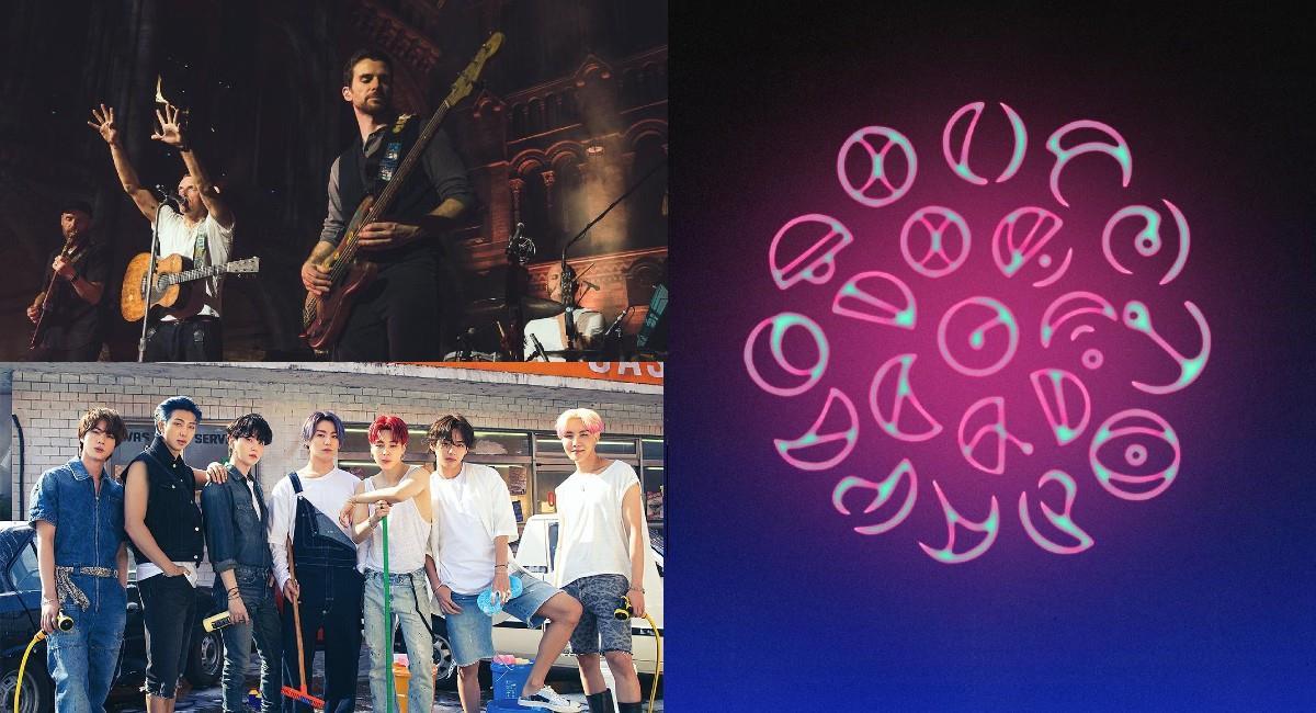 Esta sería la primera colaboración de Coldplay con un grupo de K-pop. Foto: Instagram