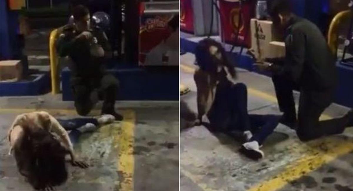 """Aún se desconoce el origen de dónde fue captado el video del supuesto """"exorcismo"""". Foto: Youtube"""