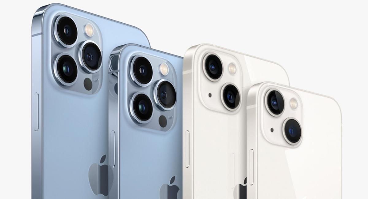 El iPhone 13 costará poco más de 3 millones de pesos en Colombia y se podrá adquirir el próximo 24 de septiembre. Foto: Twitter @Apple