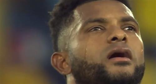 Borja contó por qué lloró con el himno de Colombia