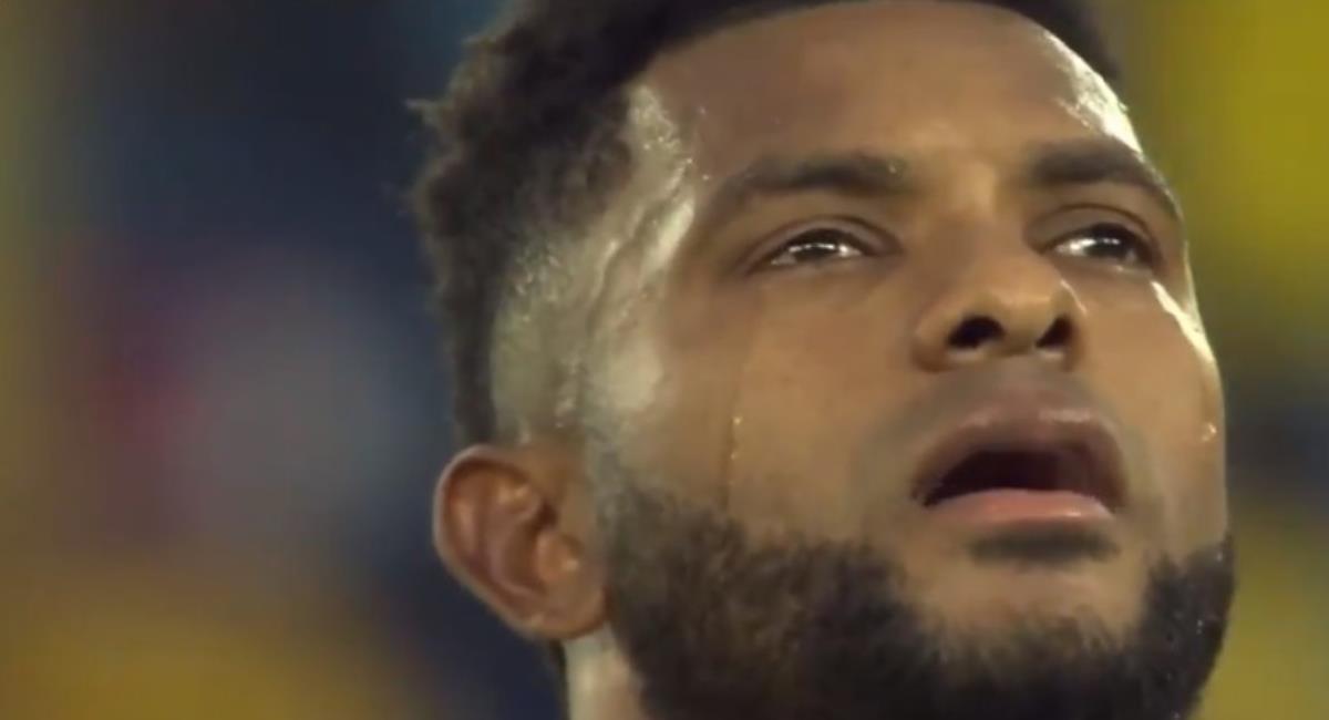 Borja confesó por qué lloró en el Colombia vs Chile. Foto: Twitter Captura pantalla Gol Caracol.