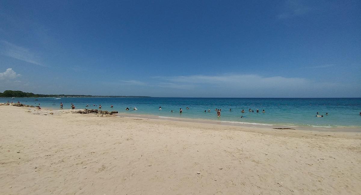 Barú, es un destino favorito por sus tonos perfectos de agua azul turquesa. Foto: Twitter  @marcalpalazzolo