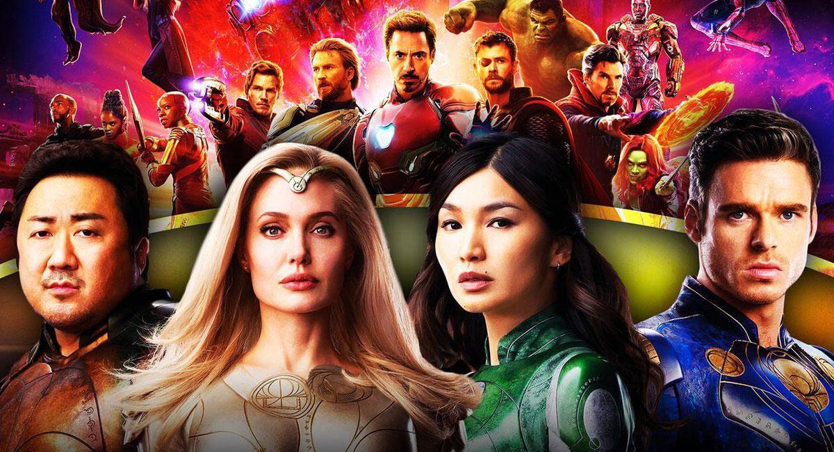 """Eternals"" mostrará un lado inexplorado del Universo de Marvel. Foto: Twitter @MCU_Direct"