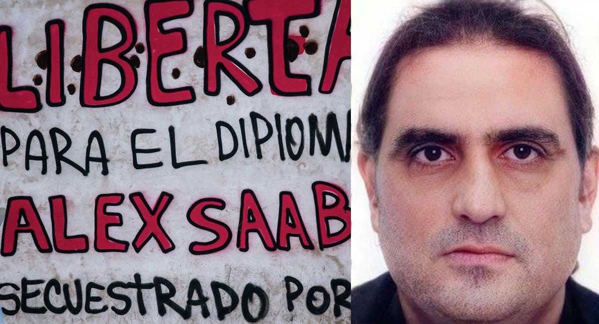 En las calles de Venezuela se reclama por la libertad de Alex Saab, quien es considerado un diplomático. Foto: Twitter @barbaritosedeno