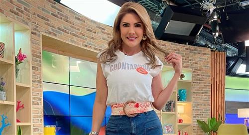 Hipnotizador apagó cigarrillo en la lengua de Ana Karina Soto en 'Buen día Colombia'