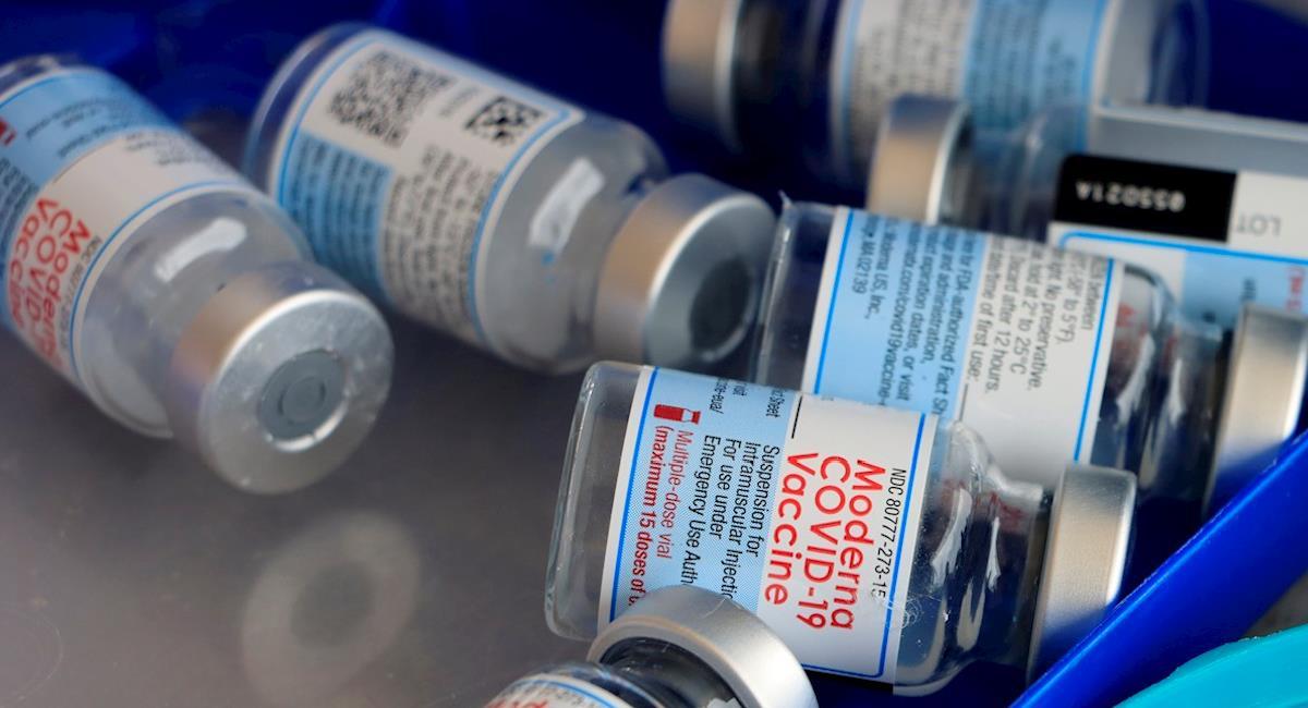 Tercera dosis de Moderna es efectiva ante nuevas variantes. Foto: EFE