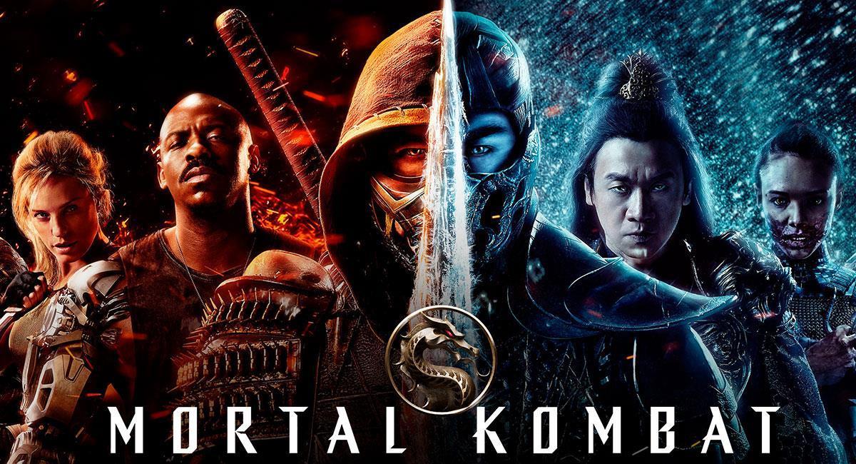 """""""Mortal Kombat"""" fue uno de los grandes estrenos de Warner Bros para 2021. Foto: Twitter @MKMovie"""