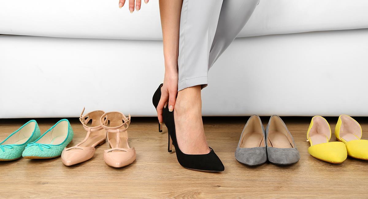 Estos serán los zapatos que marcarán tendencia en el 2022. Foto: Shutterstock