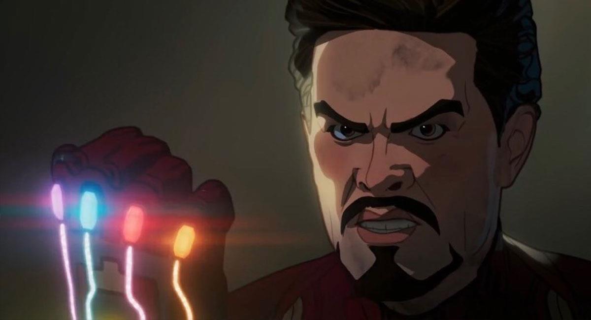 """Tony Stark fue uno de los protagonistas del nuevo capítulo de """"What If?"""". Foto: Twitter @whatifofficial"""