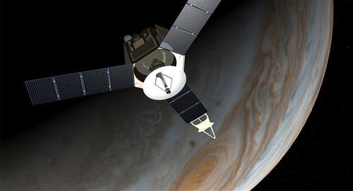 """Captan extraño objeto que """"choca"""" contra Júpiter y no fue la NASA"""