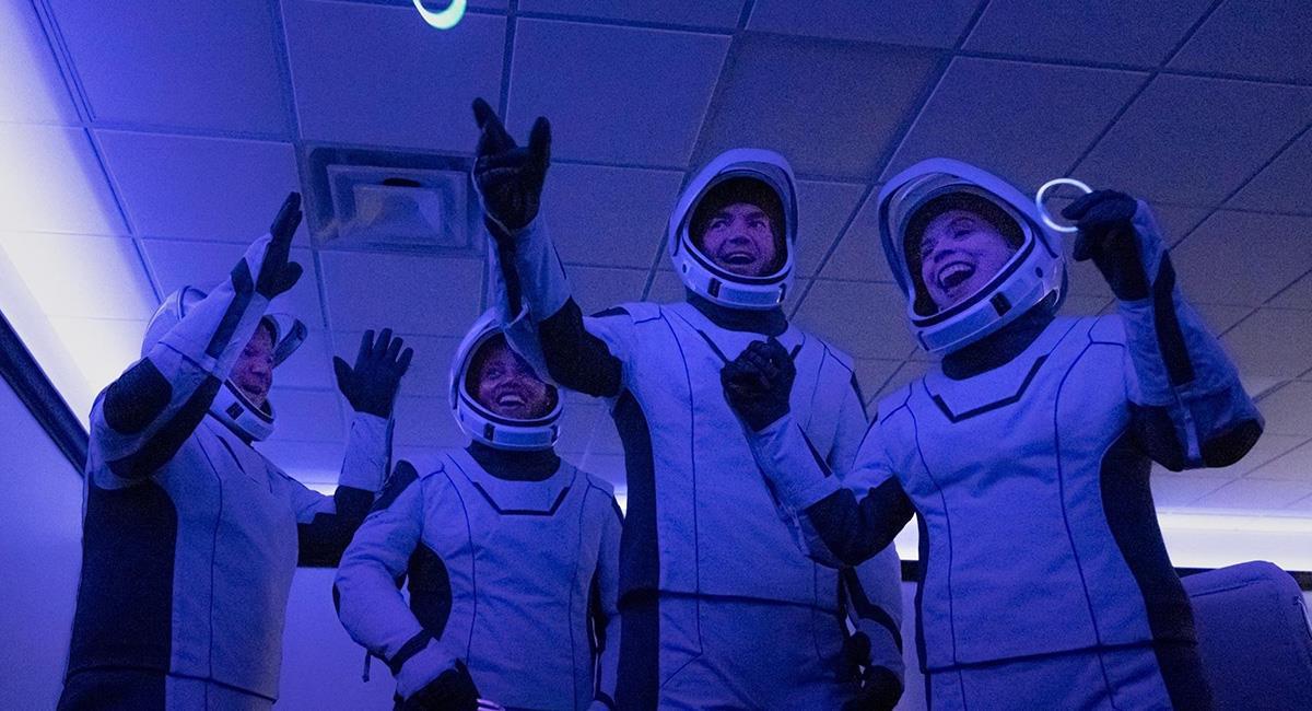 La misión Inspiration 4, es la primera que lleva al Espacio civiles sin astronautas. Foto: EFE